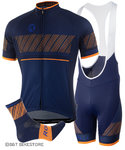 Rogelli Ritmo Zomerset Blue/ Orange